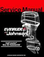 1987 johnson evinrude cd colt junior thru 55 commercial for 55 johnson outboard motor