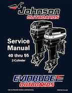 1996 Johnson Evinrude Ed 40 Thru 55 2 Cylinder Service