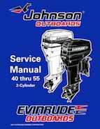 1998 Johnson Evinrude Ec 40 Thru 55 2 Cylinder Service
