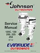 125HP 1997 125RWYJ Johnson/Evinrude outboard motor Service Manual