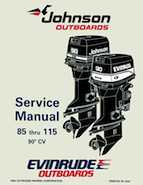 100HP 1995 100WMPLC Johnson/Evinrude outboard motor Service Manual