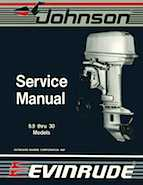 14HP 1988 14RSLP Johnson/Evinrude outboard motor Service Manual