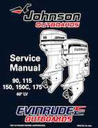 115HP 1996 J115SLED Johnson outboard motor Service Manual