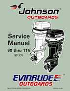 115HP 1997 J115JLEU Johnson outboard motor Service Manual