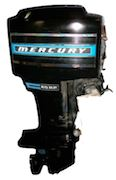 1965-1989 Mercury outboards 45-115hp. Service Manual