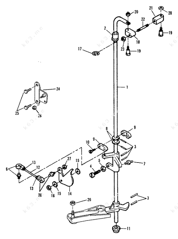 Mercury 150 Assembly Diagram