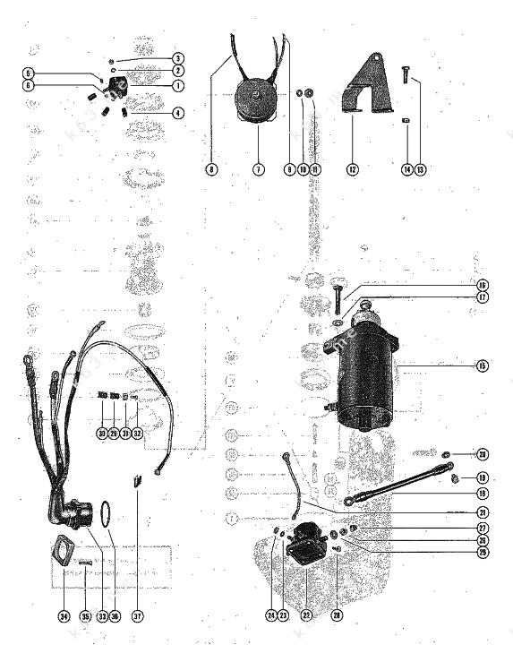 35 Mercury Outboard Rectifier Wiring Diagram