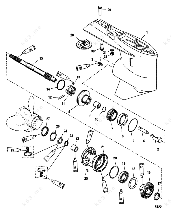 Arctic Cat 120 Parts Diagram Com